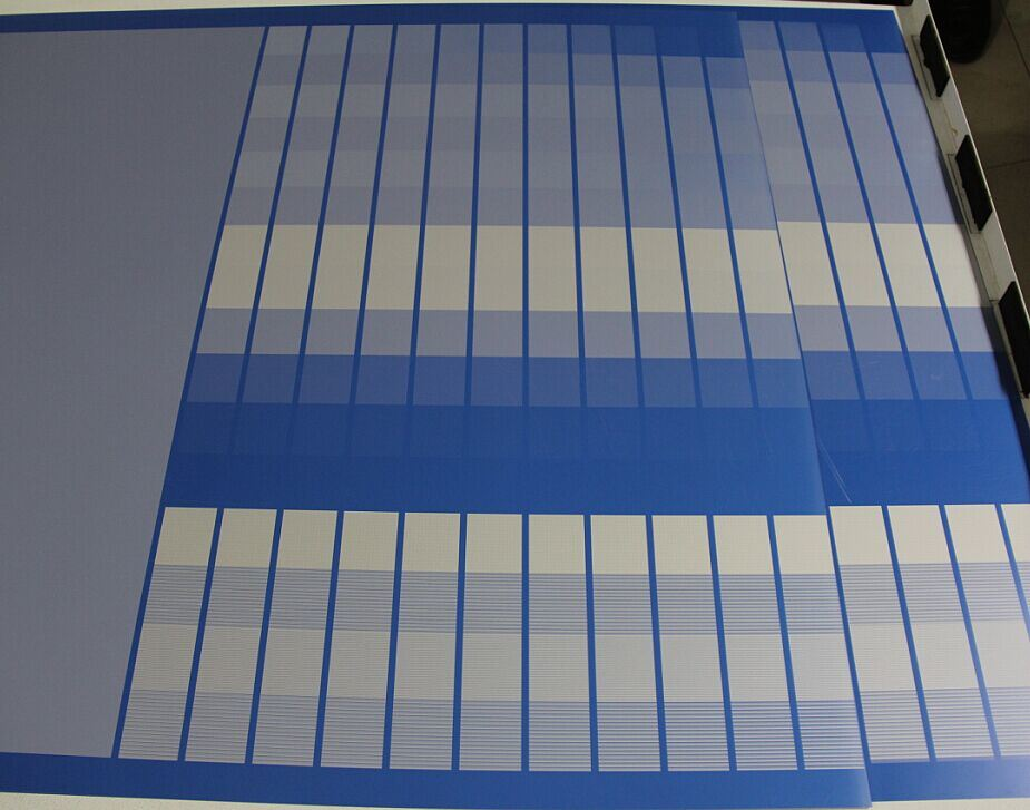 Long Impression Double Layer Blue Color Thermal CTP Plate