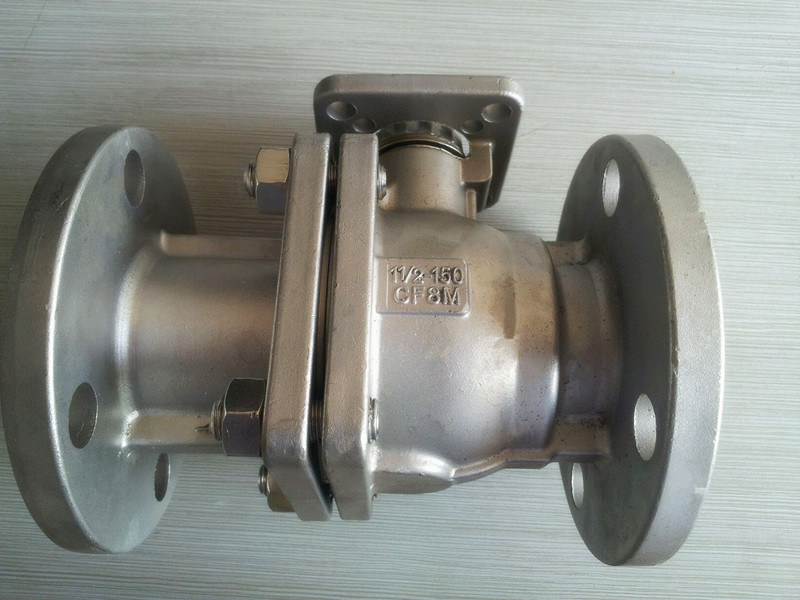 Flanged Ball Valve with High Mount Pad (Q41F-150LB)