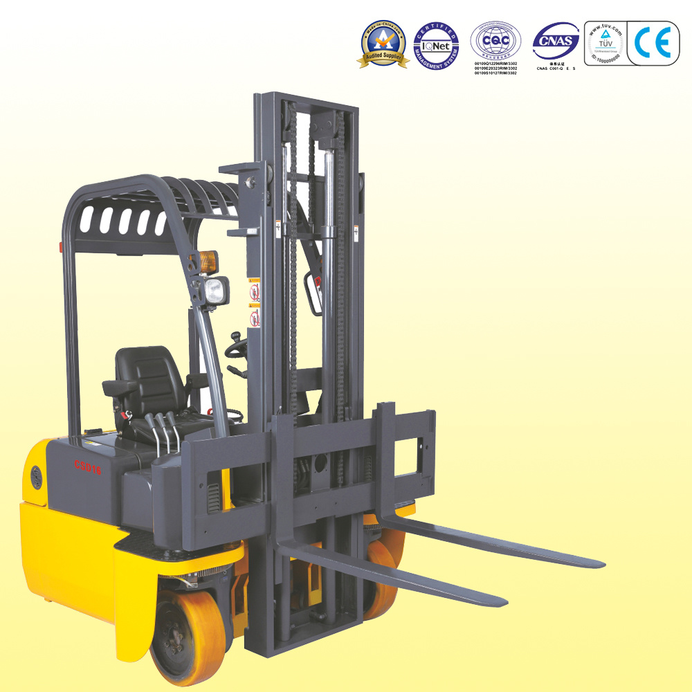4-Directional Forklift with Dual Motor Drive and Dual Steering System