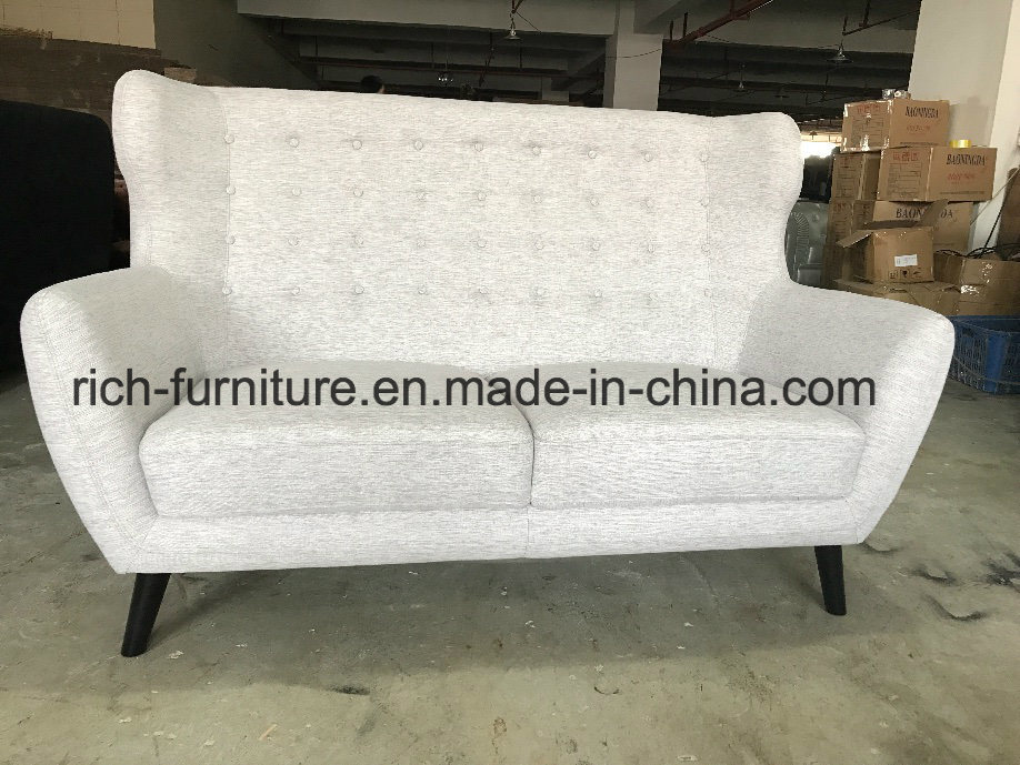 Modern Elegant Italian Home Furniture Living Room Fabric Sofa