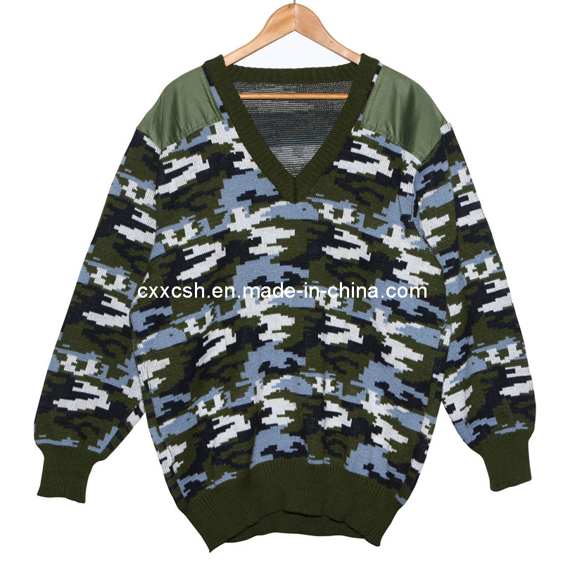 Military Camouflage Pullover