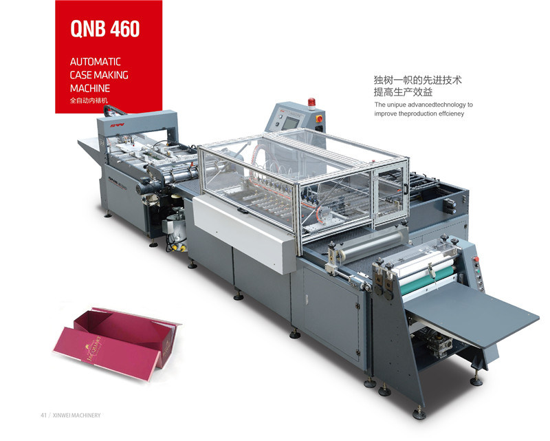 Hard Cover Maker for Lining Paper Qnb-460