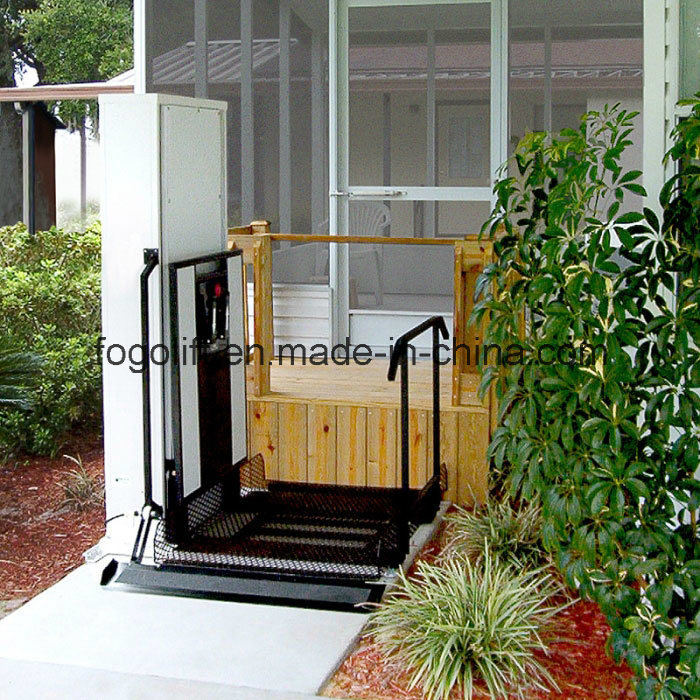 Straight Left Access Wheelchair Lift