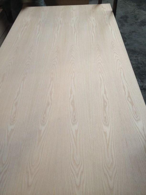 Natural American Red Oak Fancy Veneer MDF Furniture Use