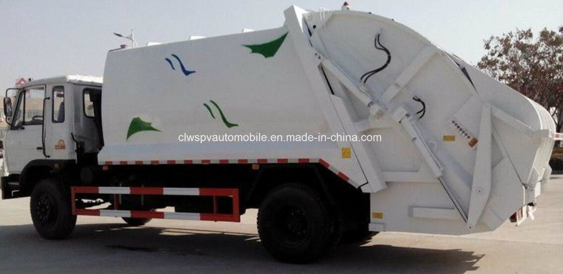 LHD & Rhd Refuse Wangon 12 Tons to 15 Tons Compressed Garbage Truck for Sale