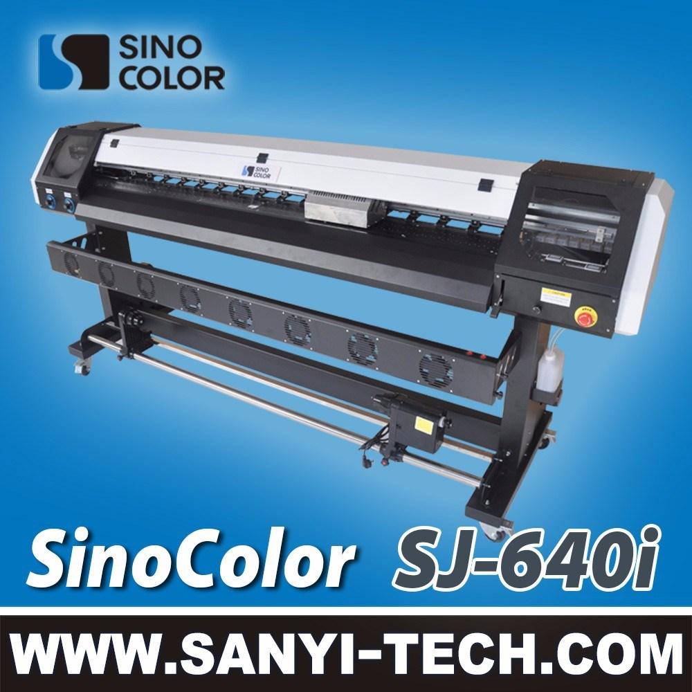 Sinocolor Sj-640I Large Format Printing Machine with Dx7 Head