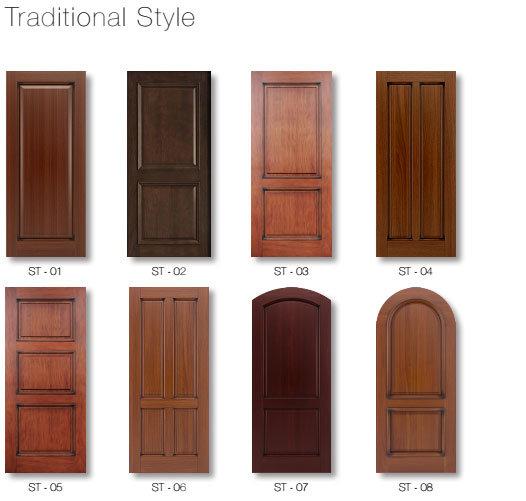 Painting Solid Wooden Timber Door