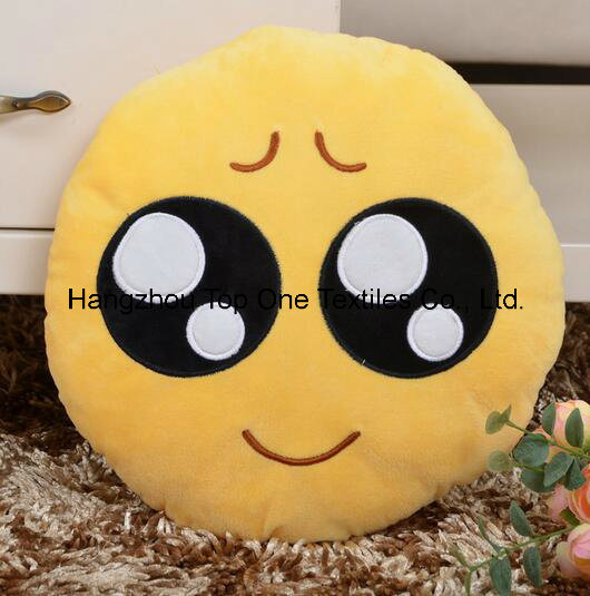 2017 Cute Wholesale Emoji Pillow