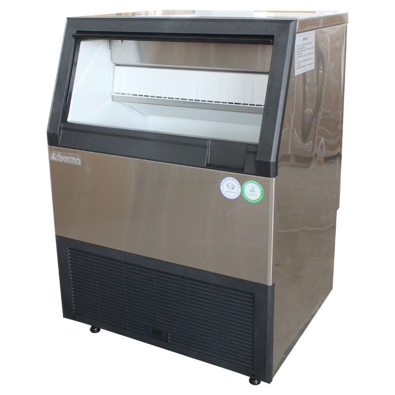 CE Approved 60kgs/24hrs Cube Ice Machine with PLC Control