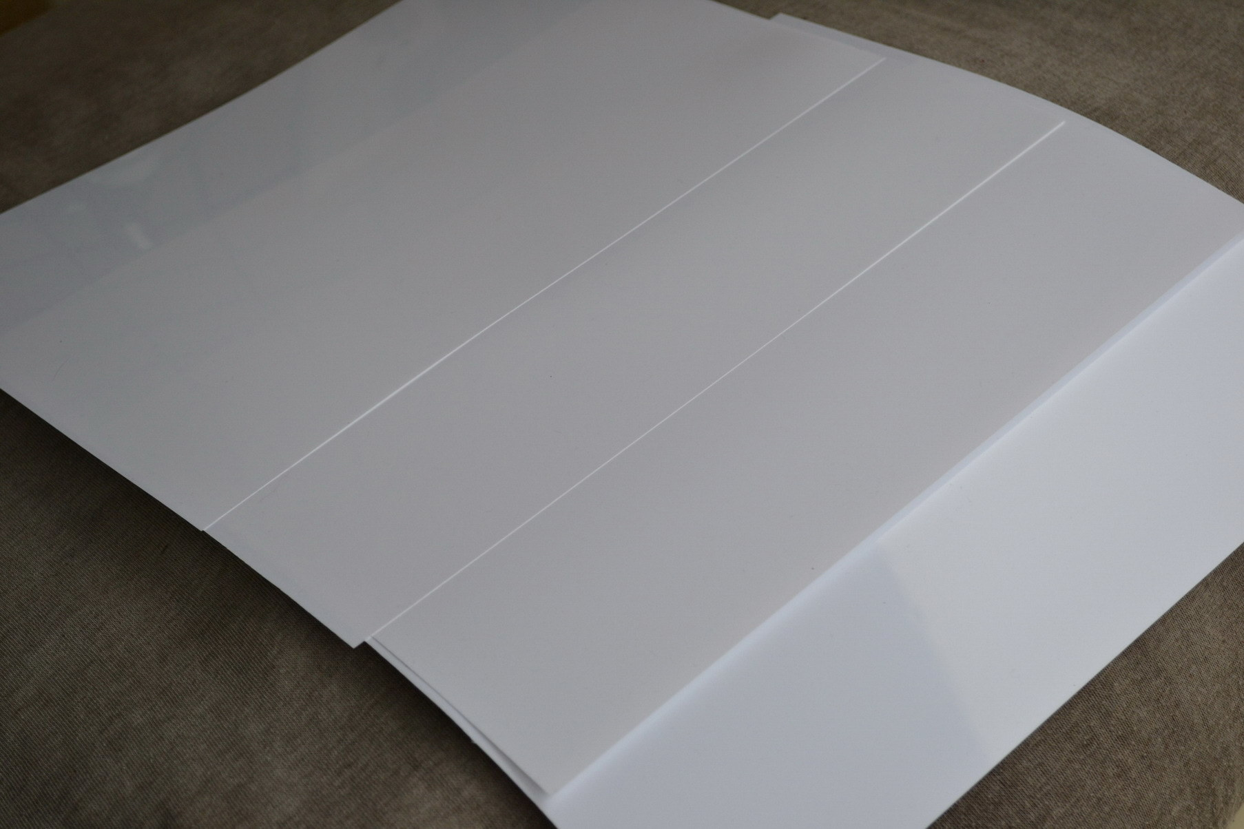 White Pet Films /White Polyester Film for Inkjet, and Laser Printer