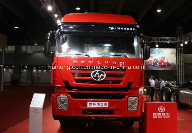 High End Saic Iveco Hongyan M100 290HP 4X2 Trailer Head / Truck Head /Tractor Truck of Euro 4 (Chang Road Version)
