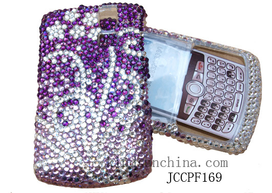 JEWELED RHINESTONE CELL PHONE CASES JCCPF169