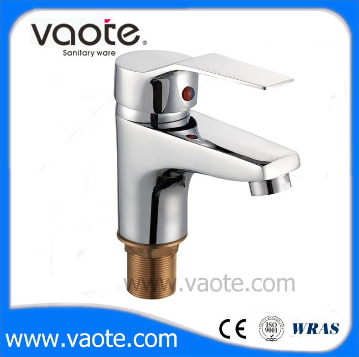 Single Brass Body Popular & Hot Selling Basin Mixer Faucet (VT10503)