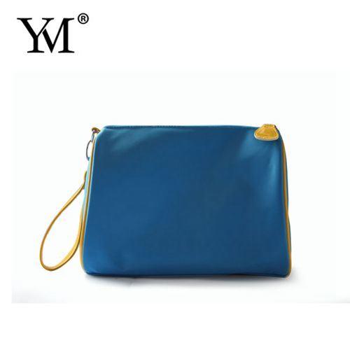 Elegant Fashion Custom Nylon Zipper Cosmetic Makeup Bag
