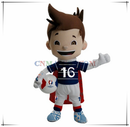 The Best Sale Super Victor Mascot for Euro Cup 2016 Cartoon Mascot