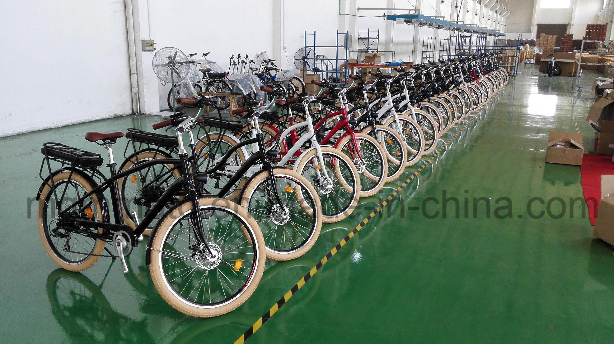 Classical Model Beach Cruiser Fat Tire City Electric Bike