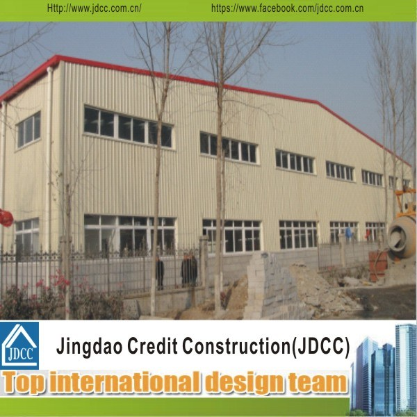 Prefabricated Steel Structure Warehouses Used for Factory