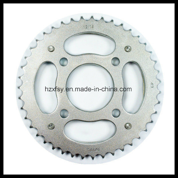 45# Steel Q235 Steel Motorcycle Front and Rear Sprocket Motorcycle Sprockets