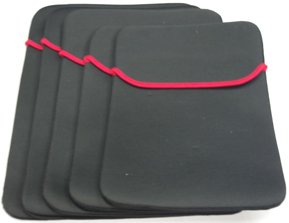 """Black Neoprene 15.4"""" Laptop Sleeve Bag for Computer (SI088)"""