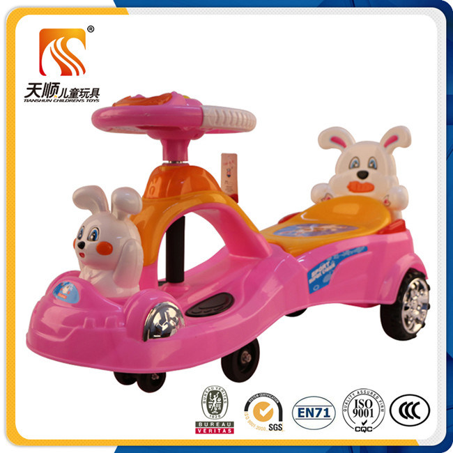 Cheap Kids Swing Car Plasma Car with Big Plastic Seat Wholesale