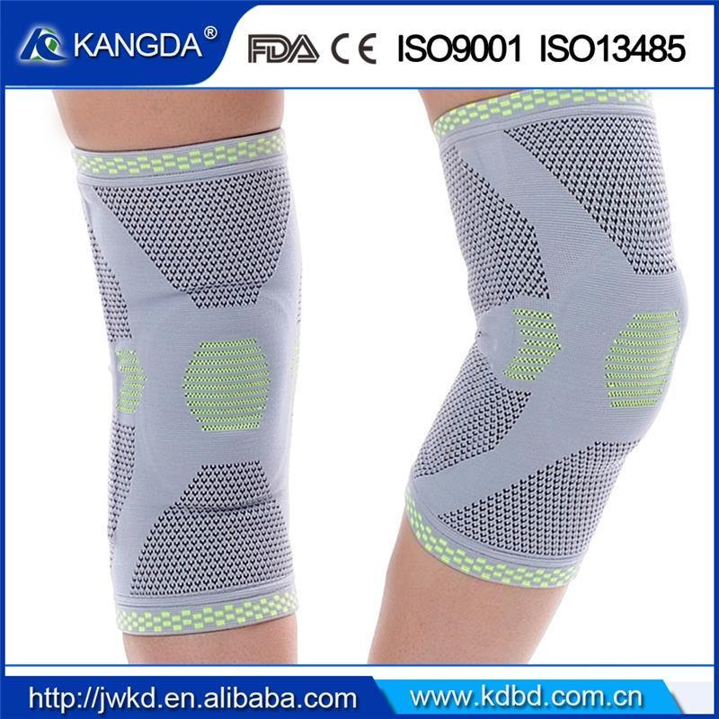 Free Sample Knee Support Pads Sleeve for Sport Safety with Ce, ISO FDA