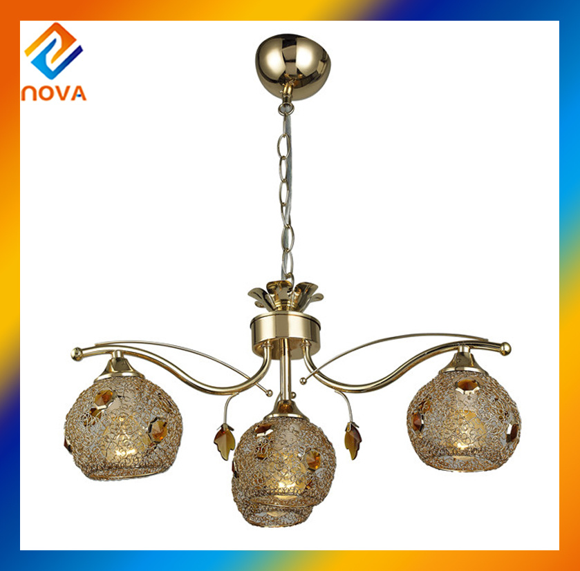 Round Pendant Glass Ceiling Light, Chandelier Pendant Lighting