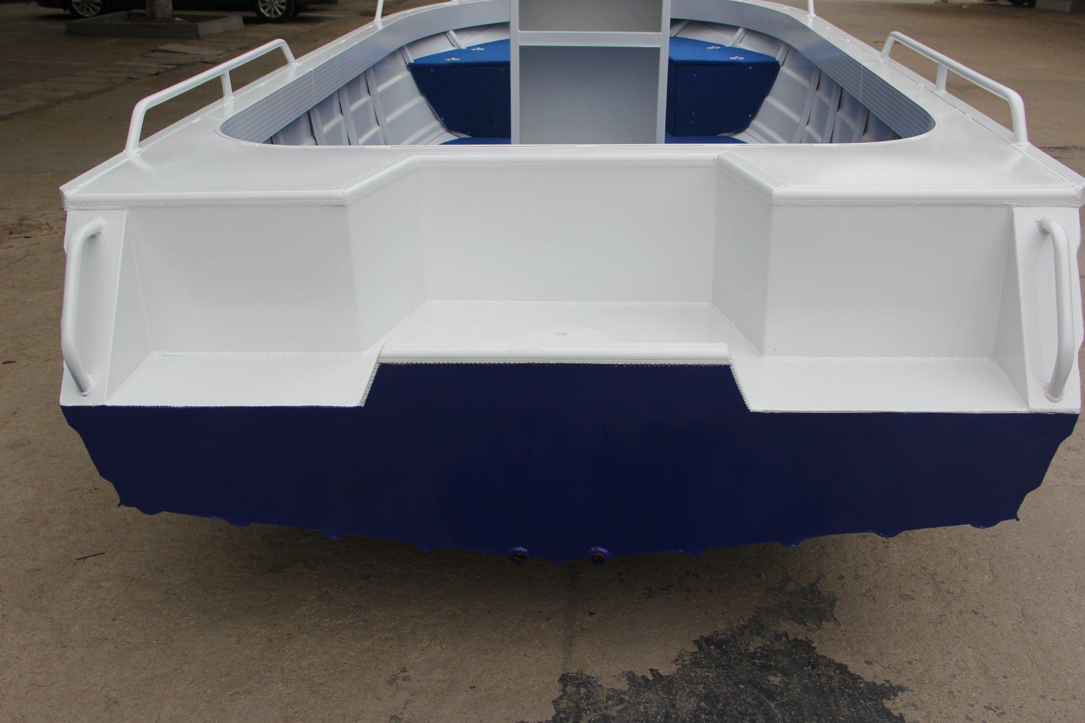 5.0m 17FT Wonder Aluminum Cabin Boat Sport Yacht
