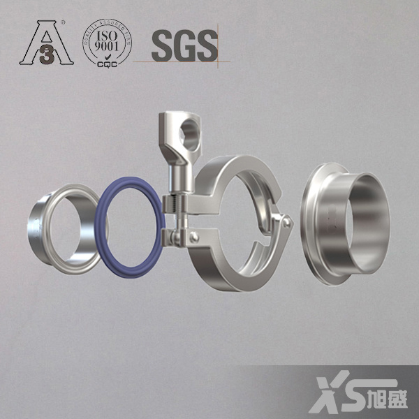 Hygienic Stainless Steel Fitting Triclover Clamp Ferrule