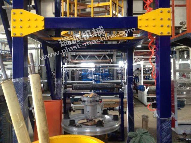 Mono Layer Ruipai Brand Single Winder Plastic Film Machine