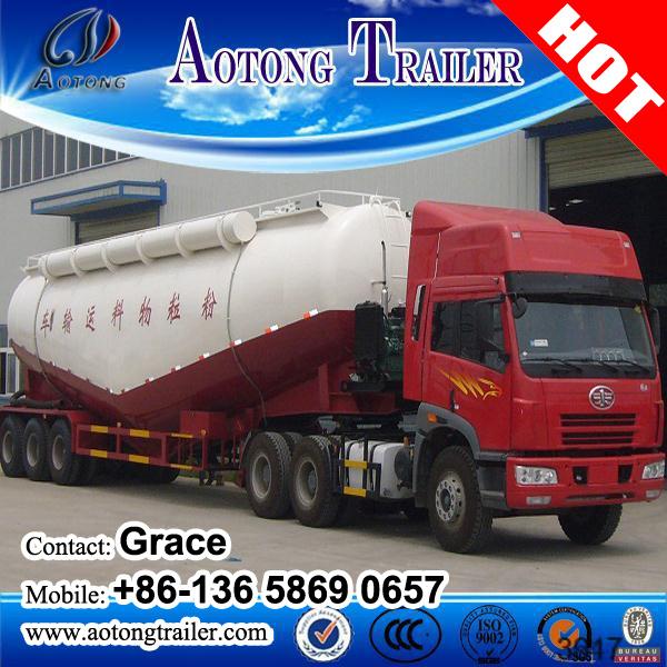 50cbm Bulk Cement Tank Semi Trailer, Bulk Cement Trailer, Bulk Cement Tanker, Cement Bulk Carriers, Bulk Cement Transport Truck