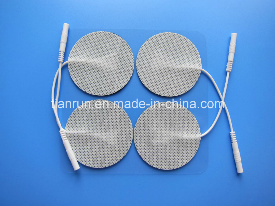 Tens Electrode, Round Shape, 50*50mm