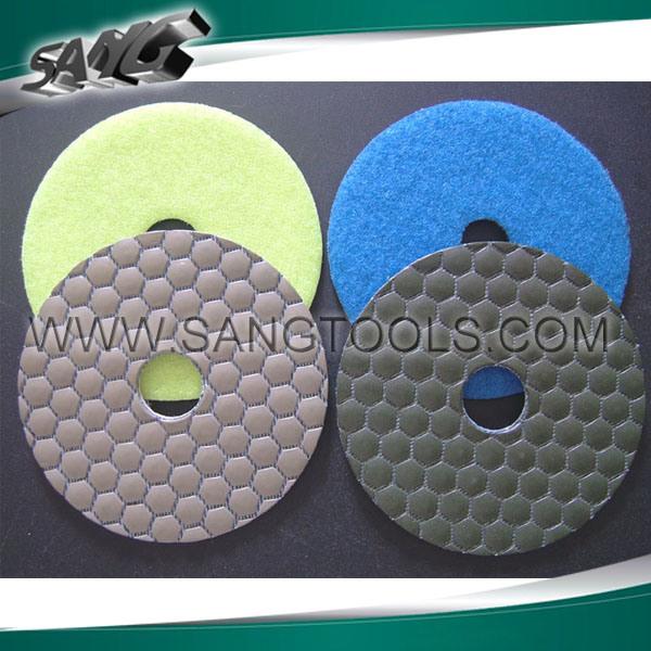 Stone Diamond Dry Wet Polishing Pad (SG-084)