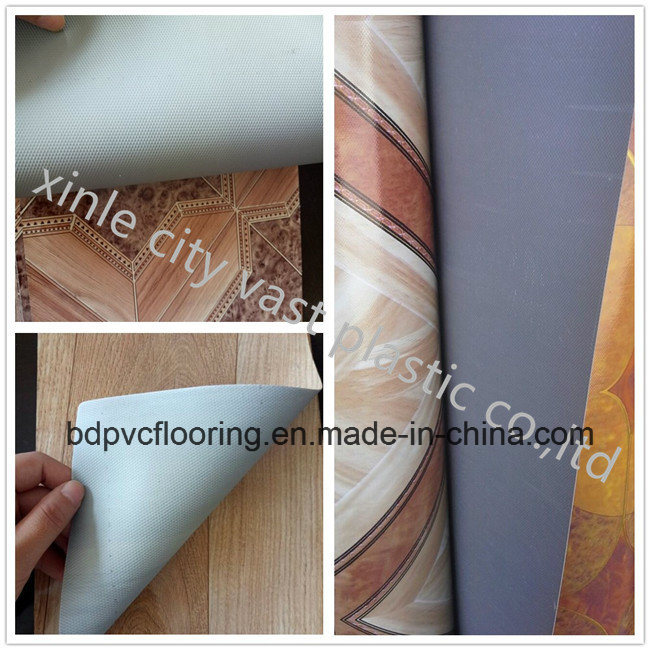 PVC Leather Sheet & Vinyl Flooring Carpet Rolls Factory Supply