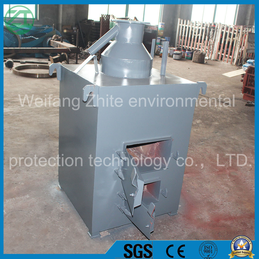 High Efficient Animal Carcasses/Living Garbage/Medical Harmless Disposal Incinerator