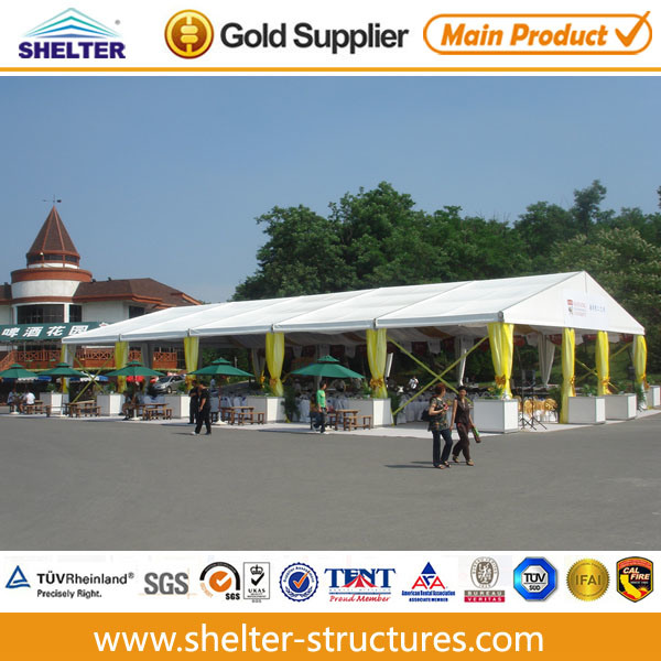 15X30 Guangzhou Big Waterproof PVC Party Event Tent, Used Aluminum Structure Frame Tent (G15) (G-series)