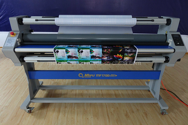MEFU MF1700M1 PRO Heat Assist Roll Cold Laminator for Film Laminating Machine