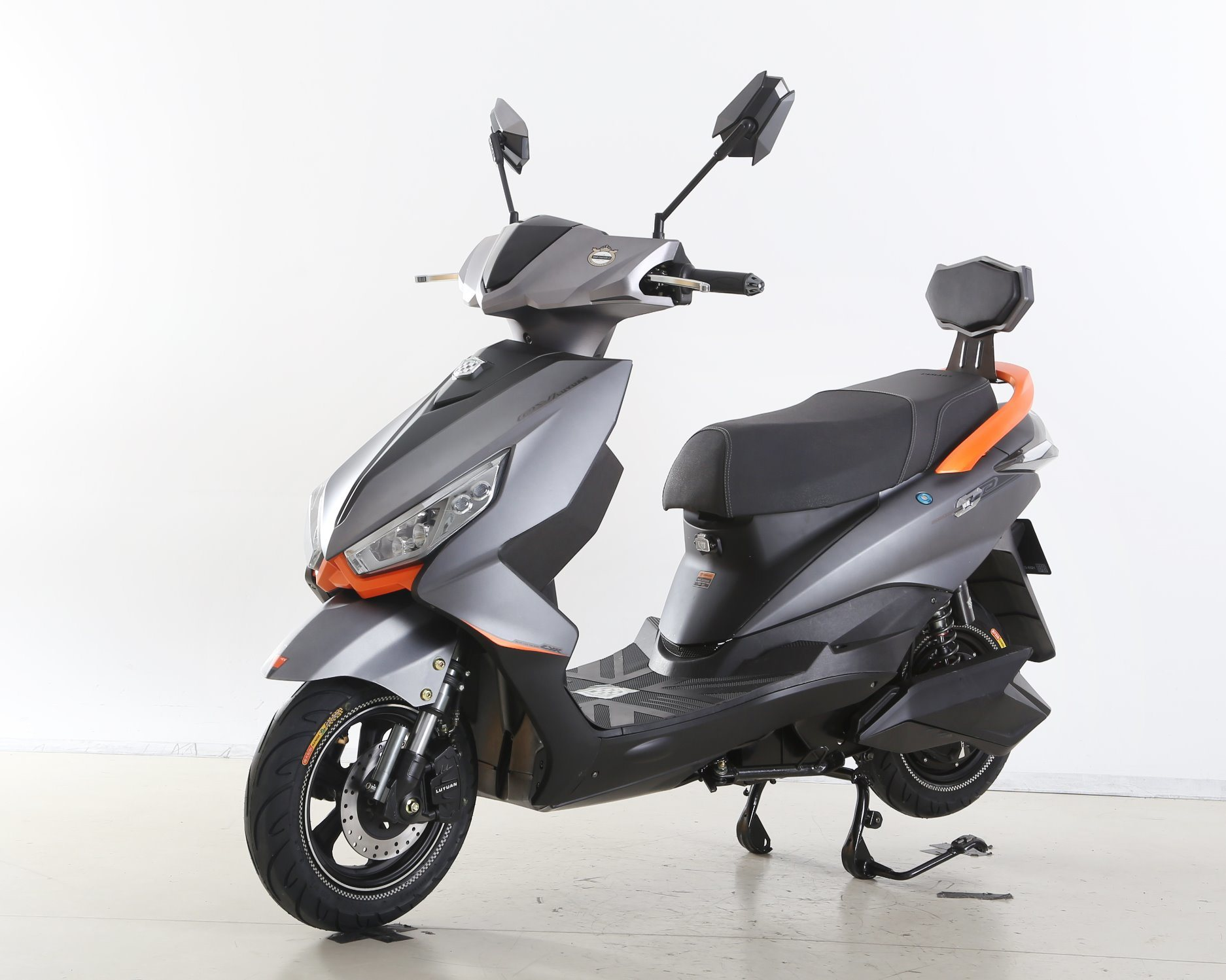 800W Sporty Electric Motorcycle Mnp