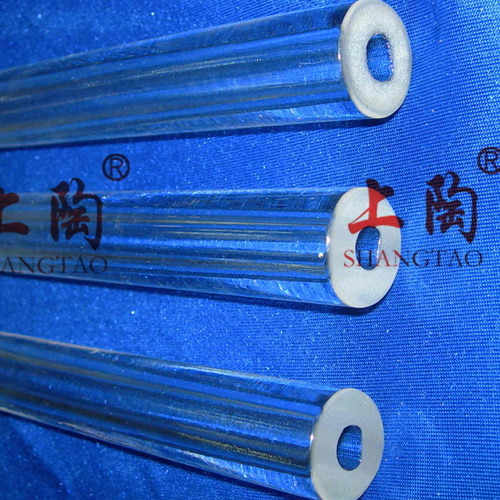High Temperature Thickness Quartz Glass Tubes