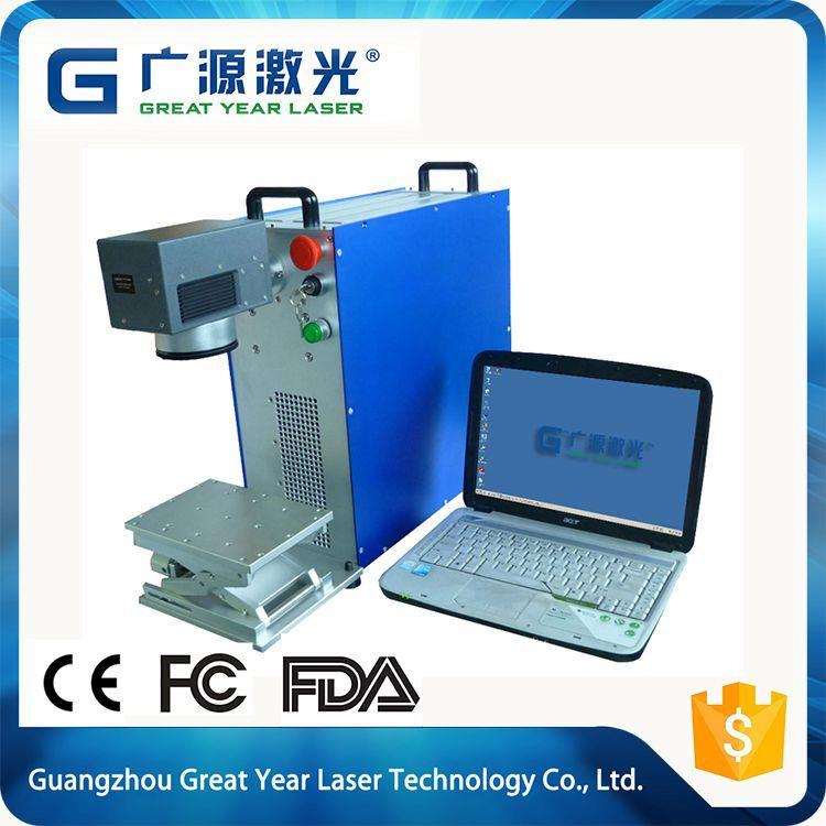 Flexiorganic Printing Fiber CO2 Laser Making Machine