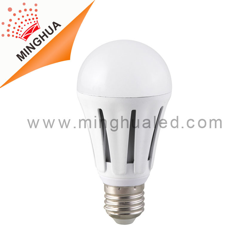 E27 10W Aluminum White Body LED Bulb with CE