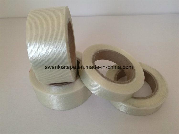 Factory Price BOPP (Meshy) Reinforced Fiberglass Adhesive Tape/Fiberglass Tape
