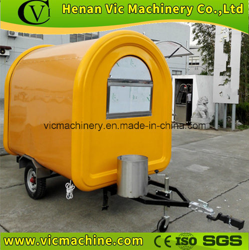 Hot! ! Europe Standard Mobile Food Cart with CE
