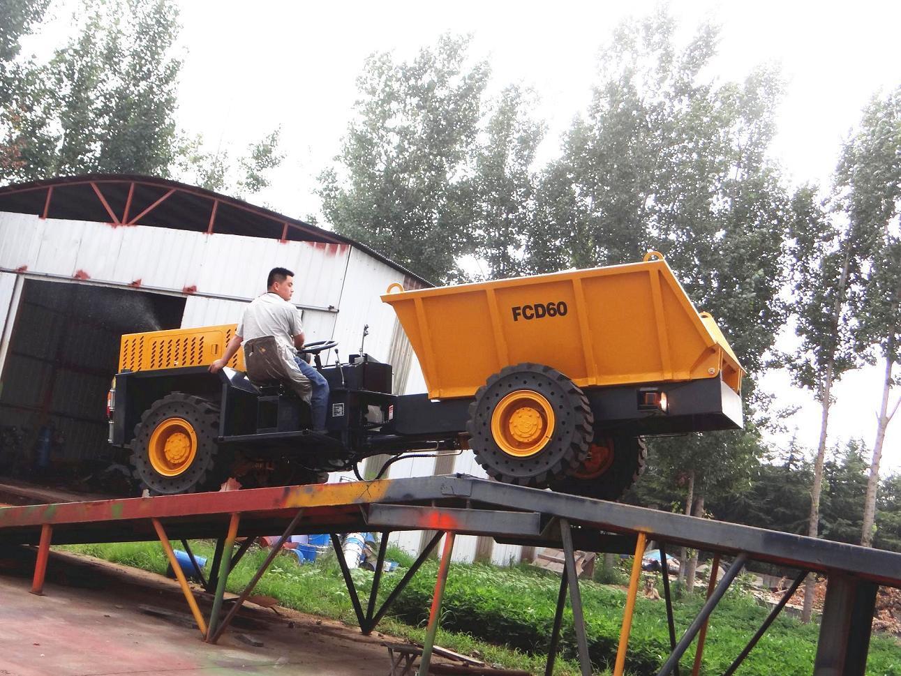 New Fcd60 6ton Underground Mining Dump Trucks