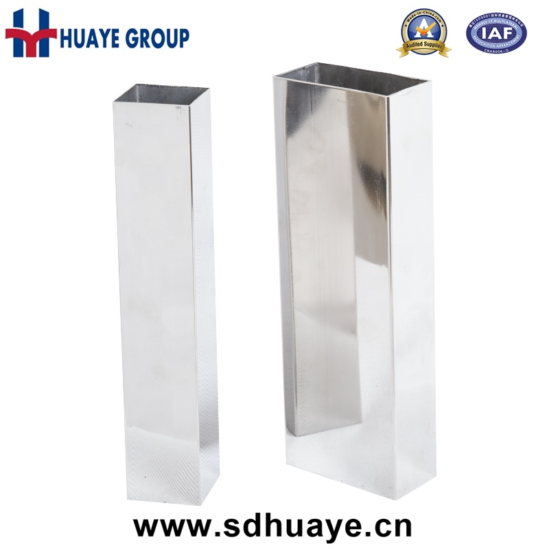 2017 Huaye Prime Stainless Steel Square and Round Tubes