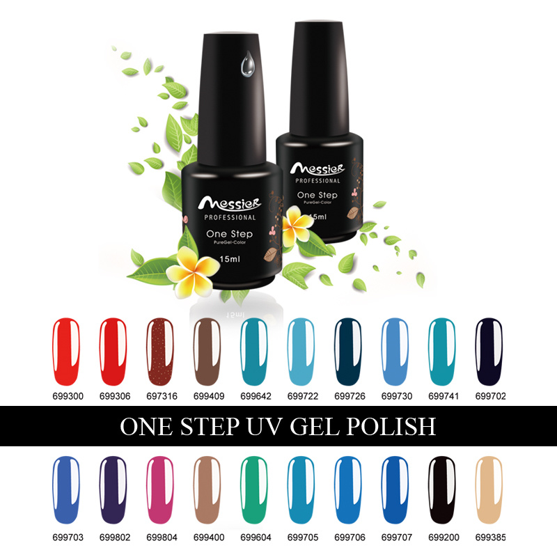 One Step UV Gel Polish Soak off Professional Nail Art Facroty OEM