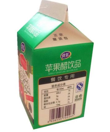 500ml 6-Layer Milk/Juice/Cream/Wine/Yoghurt Box/ Carton
