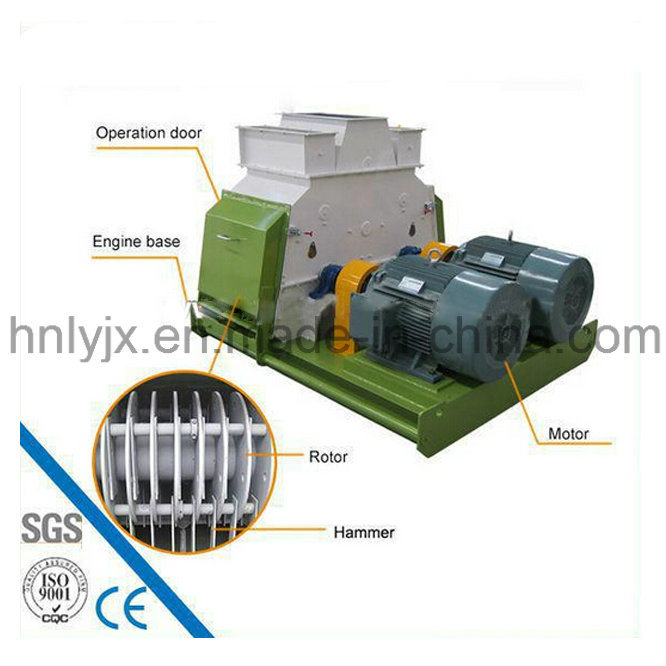 Water Drop Animal Feed Grinder Hammer Crusher Hammer Mill