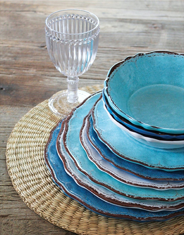 Melamine Plastic Dinnerware Tableware Set Dinner Plate for Home Use