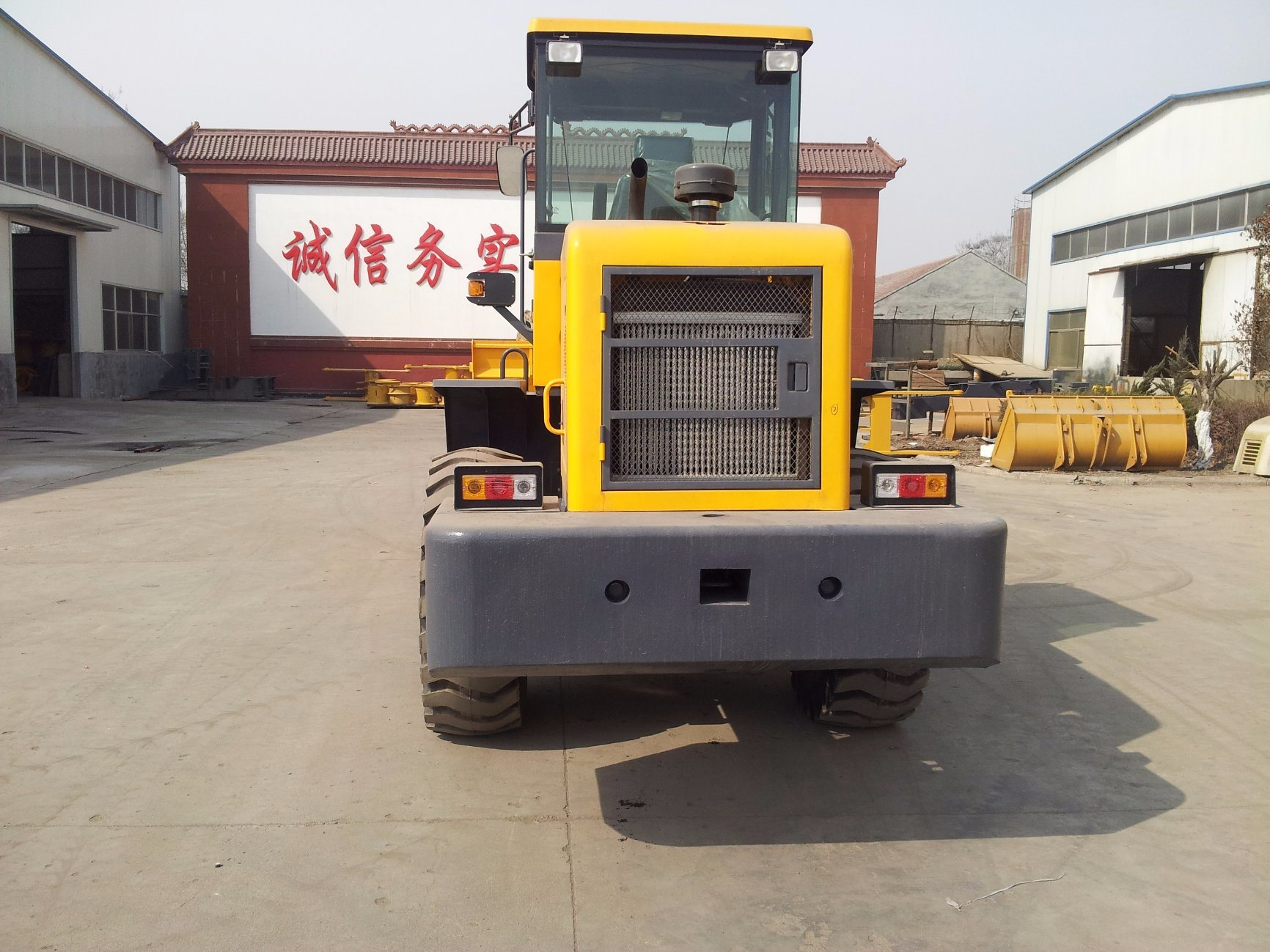 2, . 8 Tons hydraulic Control Wheel Loader (LQ928) with AC