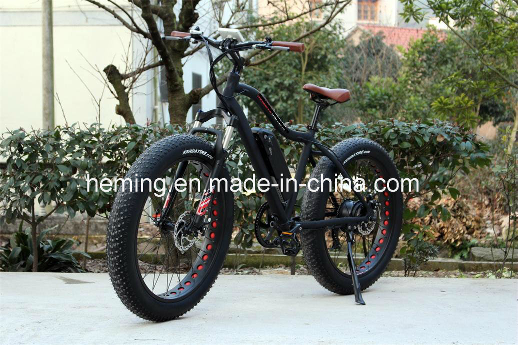 26 Inch Electric Fat Bike with Lithium Battery